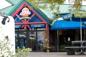 Ben and Jerrys store in Stowe VT