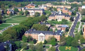 university of maryland - college park - campus view